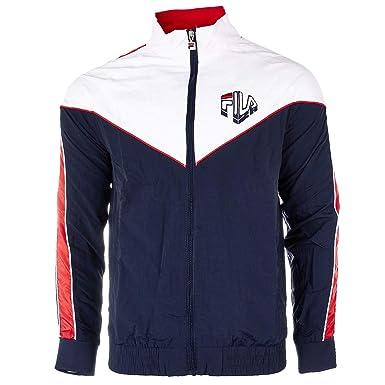 c197072d8b Fila Men's Malcom Track Suit Jacket Peac/CRed/Wht Size L at Amazon ...