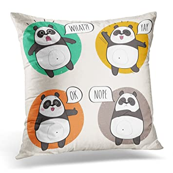 Amazon.com: Funda de almohada de Sdamase con diseño de oso ...