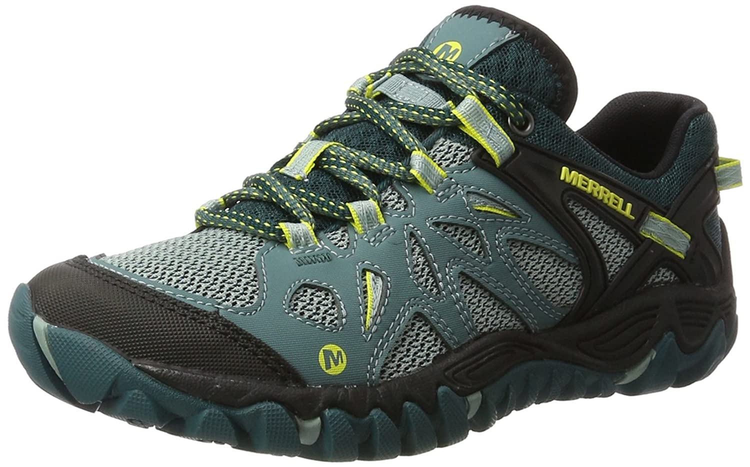 Merrell Women's All Out Blaze Aero Sport Hiking Water Shoe B01HFTW6H8 8 B(M) US|Sea Pine
