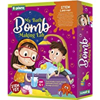 Explore.. | STEM Learner | My Bath Bomb Making Lab (Learning & Educational DIY Activity Toy Kit, for Ages 6+ of Boys and Girls)