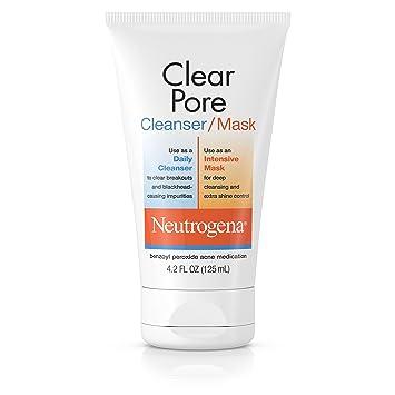 Amazon.com: Limpiador de poros Neutrógena/máscara, 4,2 onzas ...