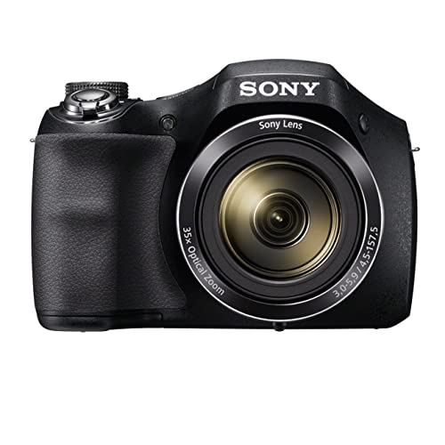 Sony DSC-H300 Appareil Photo Numérique Bridge, 20.1 Mpix Zoom Optique 35x Noir