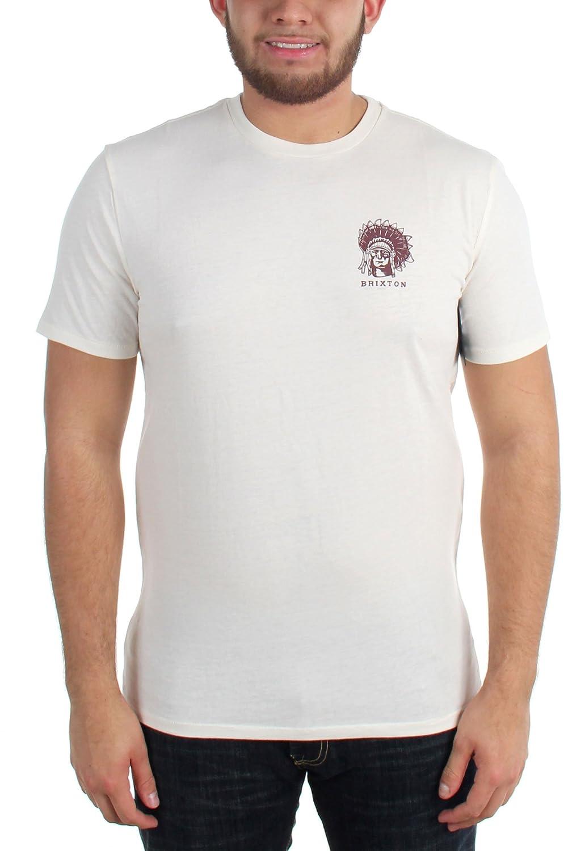 Brixton Crow SS Premium T-Shirt - Washed Black