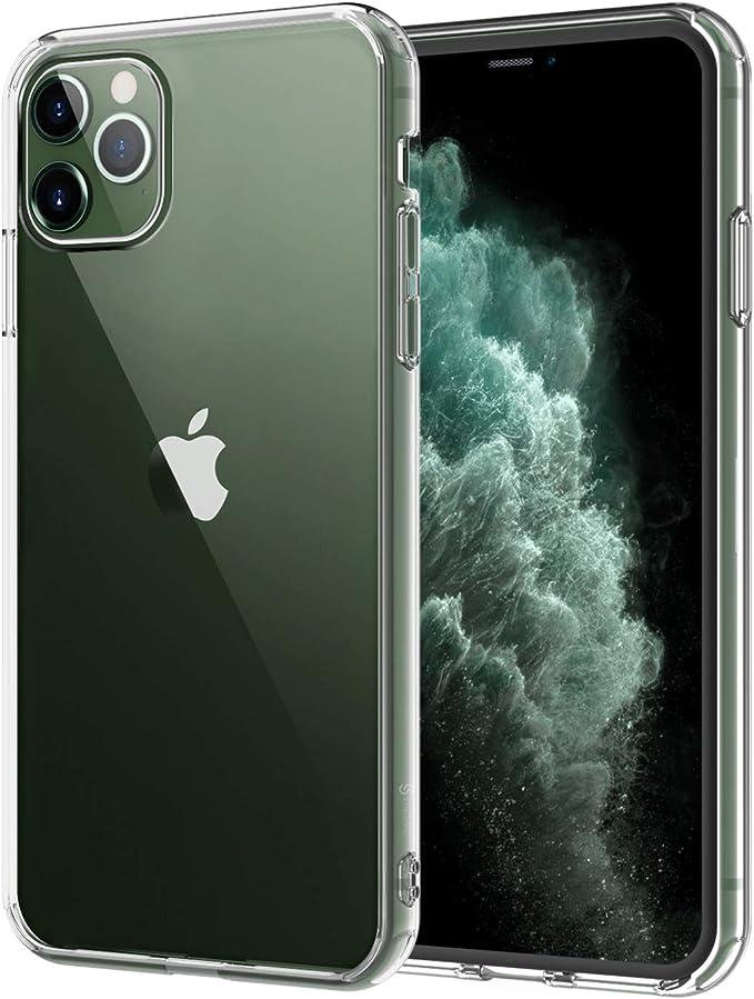 Syncwire Coque iPhone 11 Pro Max - Transparente Housse de Protection Silicone Rigide Anti-Chocs Technologie de Coussins d'air Étuis iPhone 11 Pro Max ...