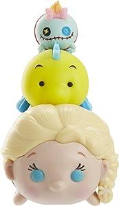 Tsum Tsum 3-Pack Figures: Elsa/Flounder/Scrump