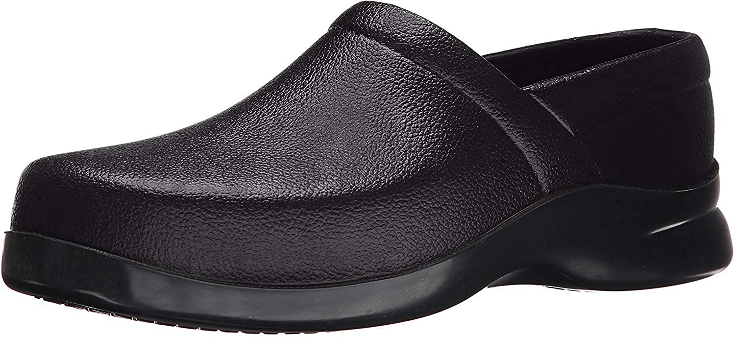 Klogs Footwear Men's Bistro Closed Back Chef Clog Black