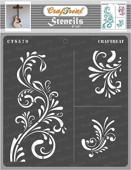 Stencil A4 Decorative Vintage paris flower market stencil Cake stencil Air brush stencil Wall stencil Scrapbook by Aurora Arts stencil 178