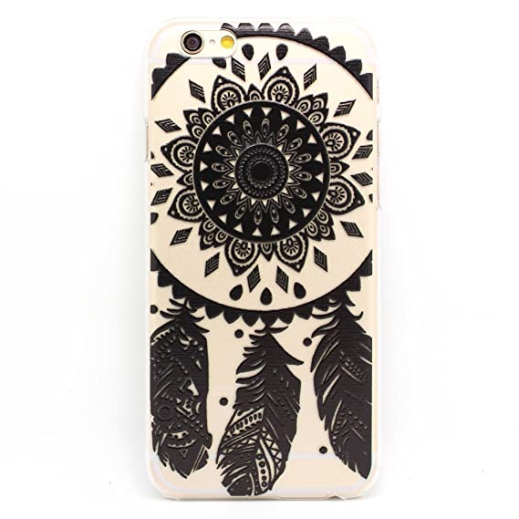 IPhone 40 Case LUOLNH Henna Ojibwe Dreamcatcher Tribal Dream Catcher Enchanting Ojibwe Dream Catcher