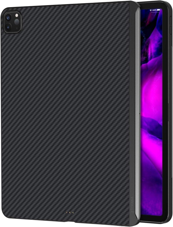 "PITAKA Magnetic Aramid Fiber Case for iPad Pro 2018 & 2020 11"" [ MagEZ Case ] Ultra-Slim and Light Minimalist Stylish Design Cover"