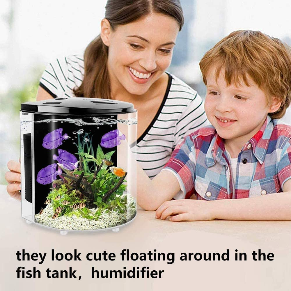 12 Pack Universal Humidifiers Cleaner Fish Overlord Humidifier Cleaner Keep Humidifiers Water Clean Drop Droplet Adorable Warm and Cool Mist Humidifiers Fish Tank Compatible with Protec Kaz PC1F