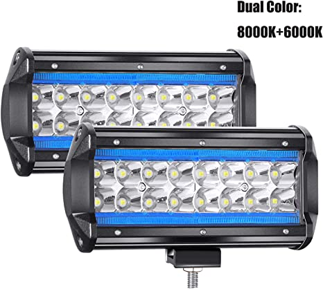 """16/"""" 288W LED Arbeitsscheinwerfer Flutlicht Strahler für Jeep Offroad SUV LKW DA"""