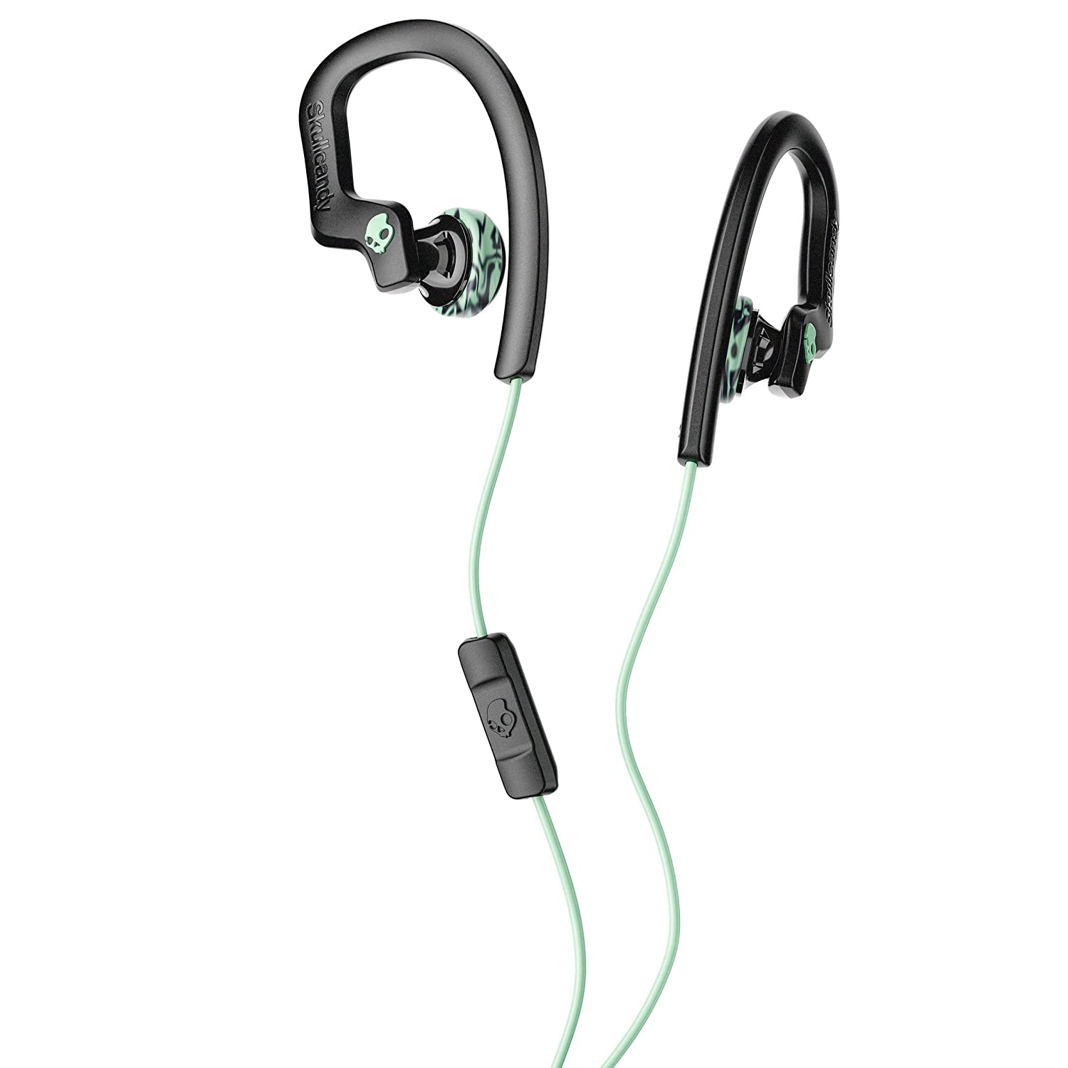 Skullcandy Chops Buds Flex Sports Performance Headphones (Black/Mint)