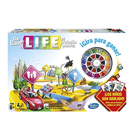 Hasbro Gaming Juego De Tablero The Game Of Life 04000105 Amazon