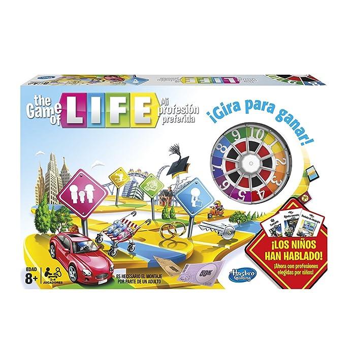 Hasbro Gaming - Juego de Tablero The Game of Life (04000105): Amazon.es: Juguetes y juegos