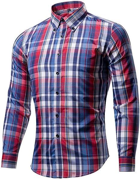 Hombres Camisa Camisa Casual Cardigan,Un,XXXL: Amazon.es: Deportes y aire libre