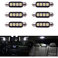 XCSOURCE 6 x Car Dome 5050 SMD LED