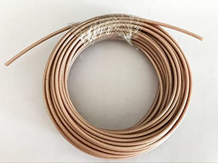 10m 30ft RG178 RG-178 RF Coaxial cable Adapter Connector Coax Cable