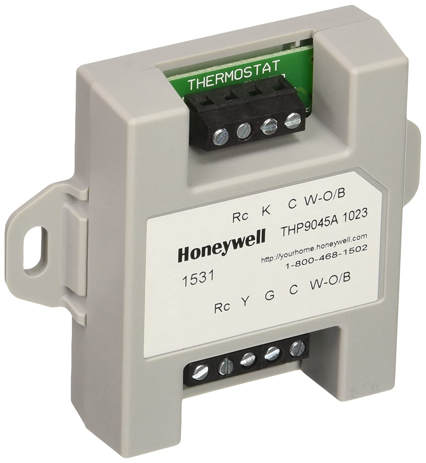 Honeywell thp9045a1023 wiresaver wiring module for thermostat on honeywell 9000 thermostat wiring diagram Ruud Heat Pump Wiring Diagram Honeywell Chronotherm III Wiring Diagram