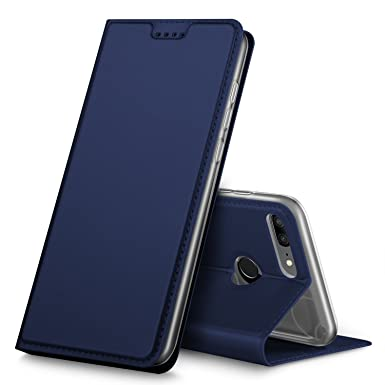 buy popular 2e887 5ceb4 BoseWek Honor 9 Lite Case, Honor 9 Lite Cover [Screen Protector Included]  [Card Slots] [Magnetic Closure] Premium Leather Flip Case Cover for Honor 9  ...