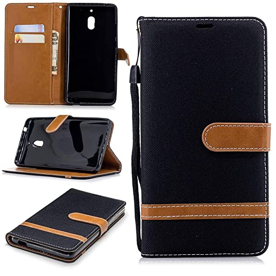 Cell Phones & Accessories Cases, Covers & Skins For Nokia 2 New Stylish Premium Leather Wallet Phone Stand Case Cover