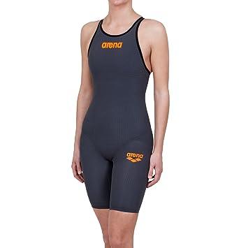 Arena Powerskin Carbon Pro Combinaison de course pour femme, femme, Damen-Wettkampfanzug Powerskin Carbon Pro, cyan, 128