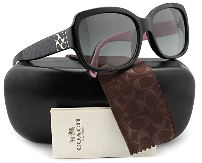 ae3ad01b4b COACH HC8001 L001 Emma Sunglasses Black w Grey Gradient (5053 11) HC ...