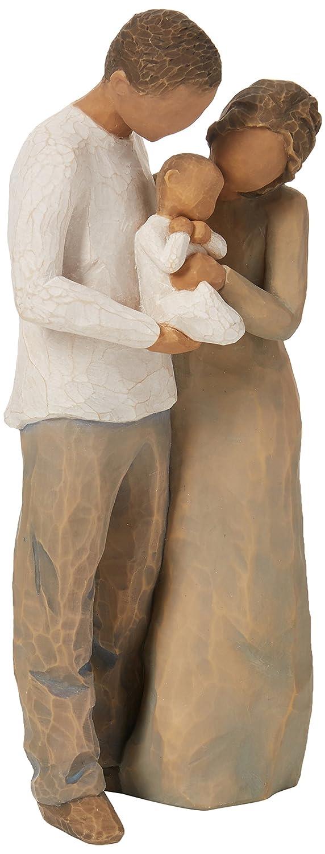 ウィローツリー彫像 We are three 3人目の家族 B00GLMSFNU
