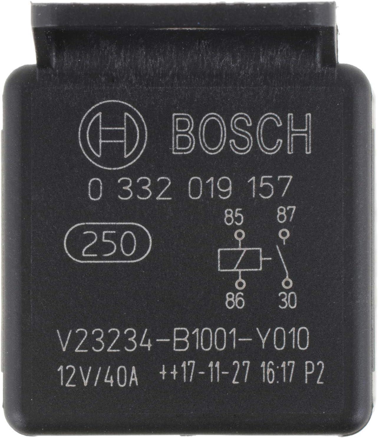 40 A 12 V Bosch 0332019157 Normal Open Mini Relays 4 Pins