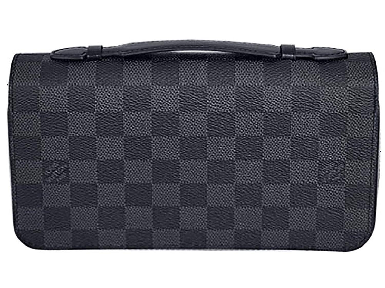 (ルイヴィトン) LOUIS VUITTON 財布 N41503 ヴィトン ダミエグラフィット LV メンズ ラウンドファスナー長財布 ジッピーXL [並行輸入品] B076DSGNNG