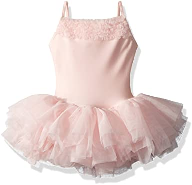 d6330aa9c6 Image Unavailable. Image not available for. Color: Bloch Girls' Camisole Tutu  Dress with Ruffles (Toddler/Little Big ...