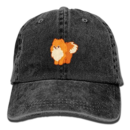 cc131c42 Amazon.com: SweetieP Unisex Kawaii Dog Cartoon Pomeranian Personal Group  Athletic Cowboy Cap Peaked Baseball Cap: Sports & Outdoors