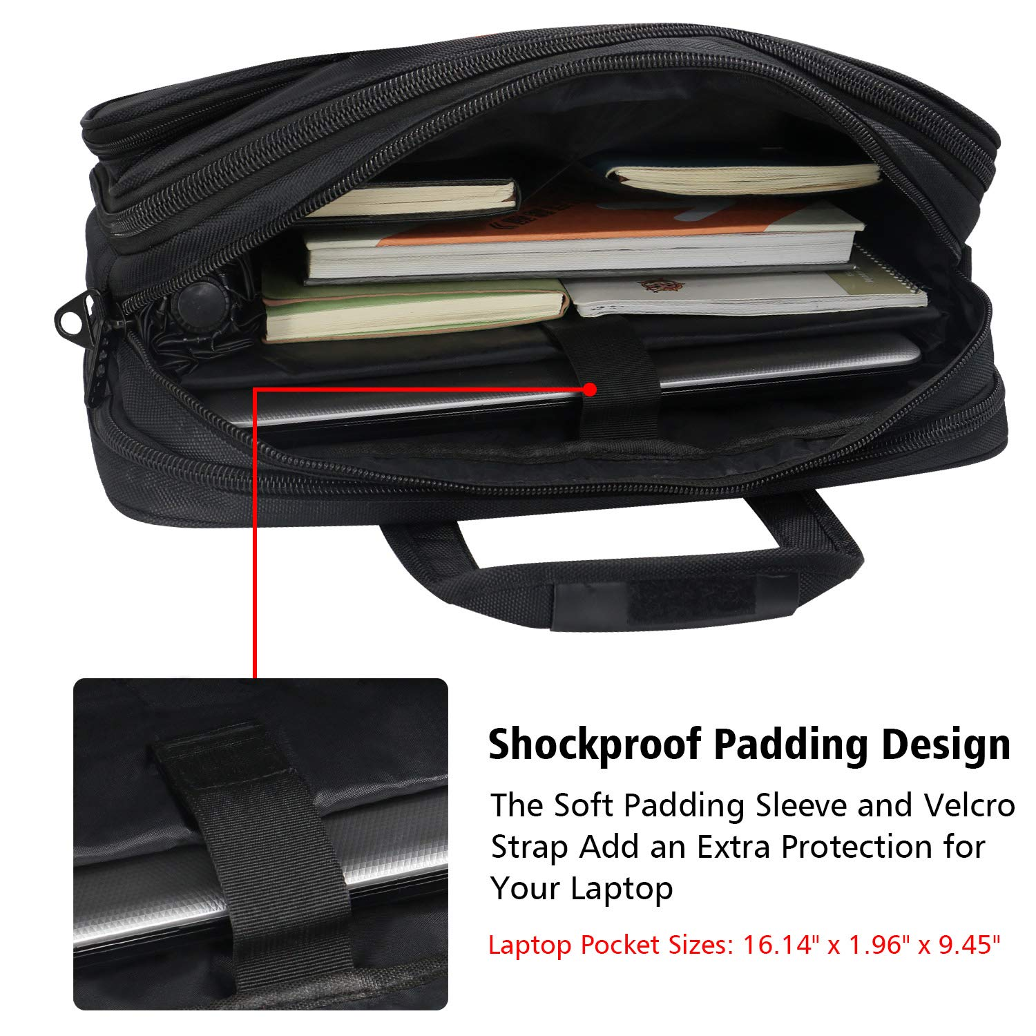 17inLaptopBag Computer Cases Women Men For Asus Acer Dell HP Laptops Carry O
