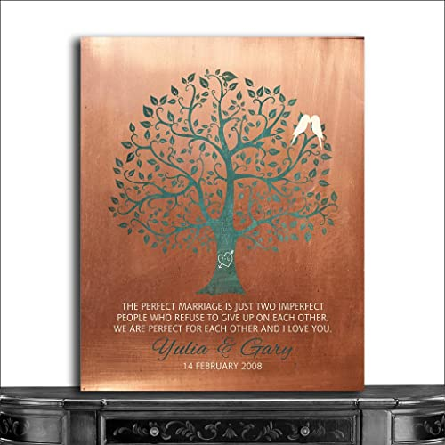 7th Wedding Anniversary Gift Ideas For Her: Copper Gifts For Her: Amazon.com