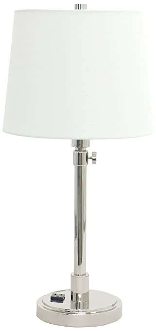 House Of Troy Th751 Pn Townhouse Adjustable Table Lamp With
