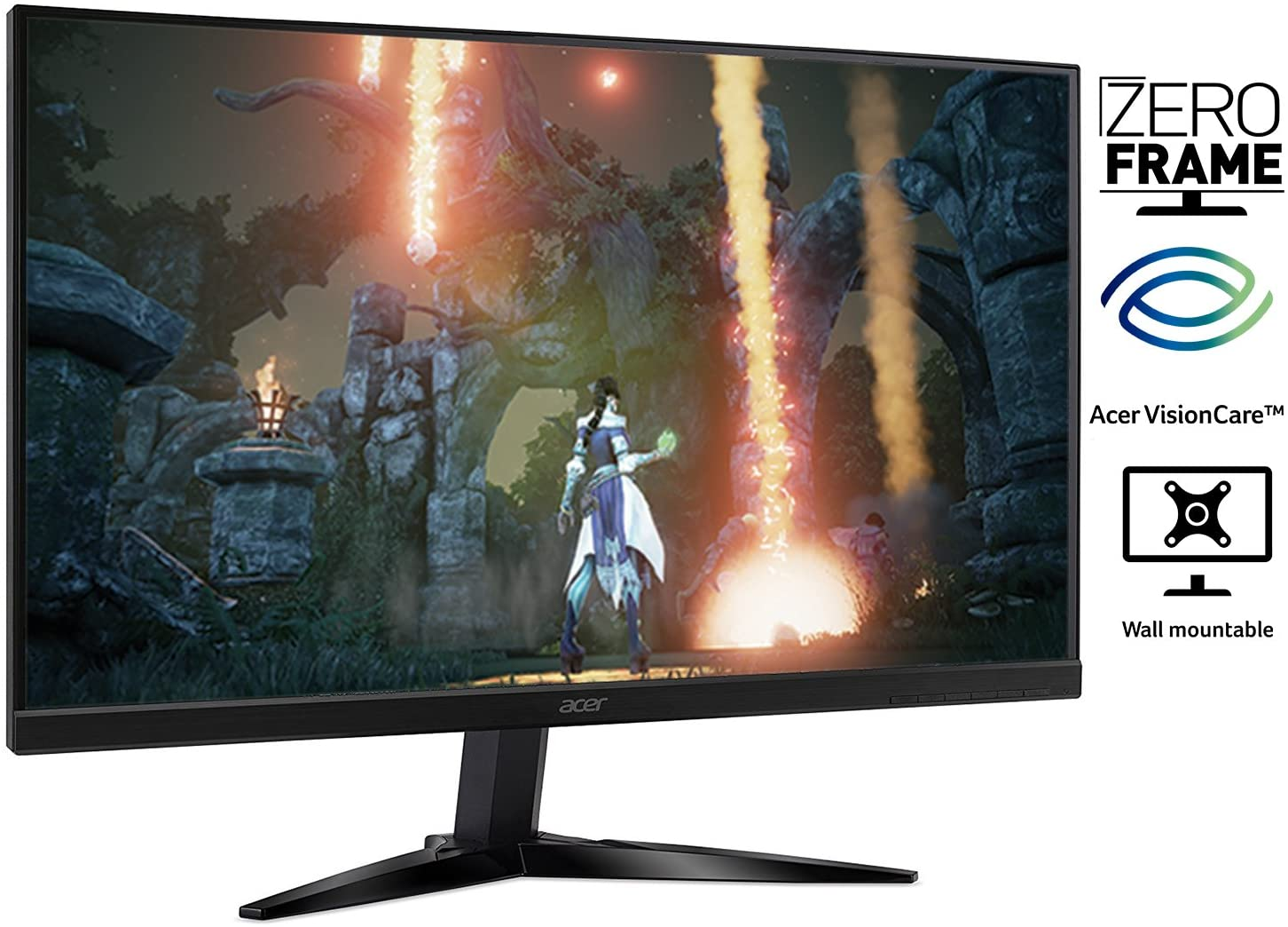 Amazon.com: Monitor Acer para videojuegos con tecnología AMD FREESYNC:  Computers & Accessories