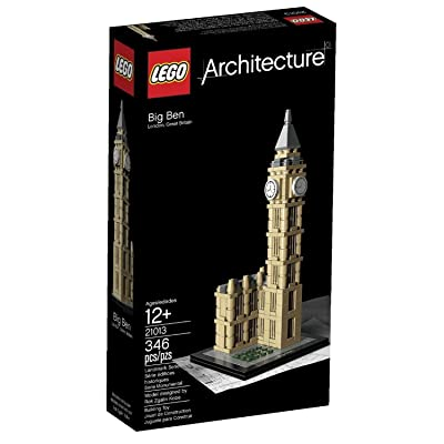 LEGO Architecture 21013 Big Ben (Discontinued by manufacturer): Toys & Games