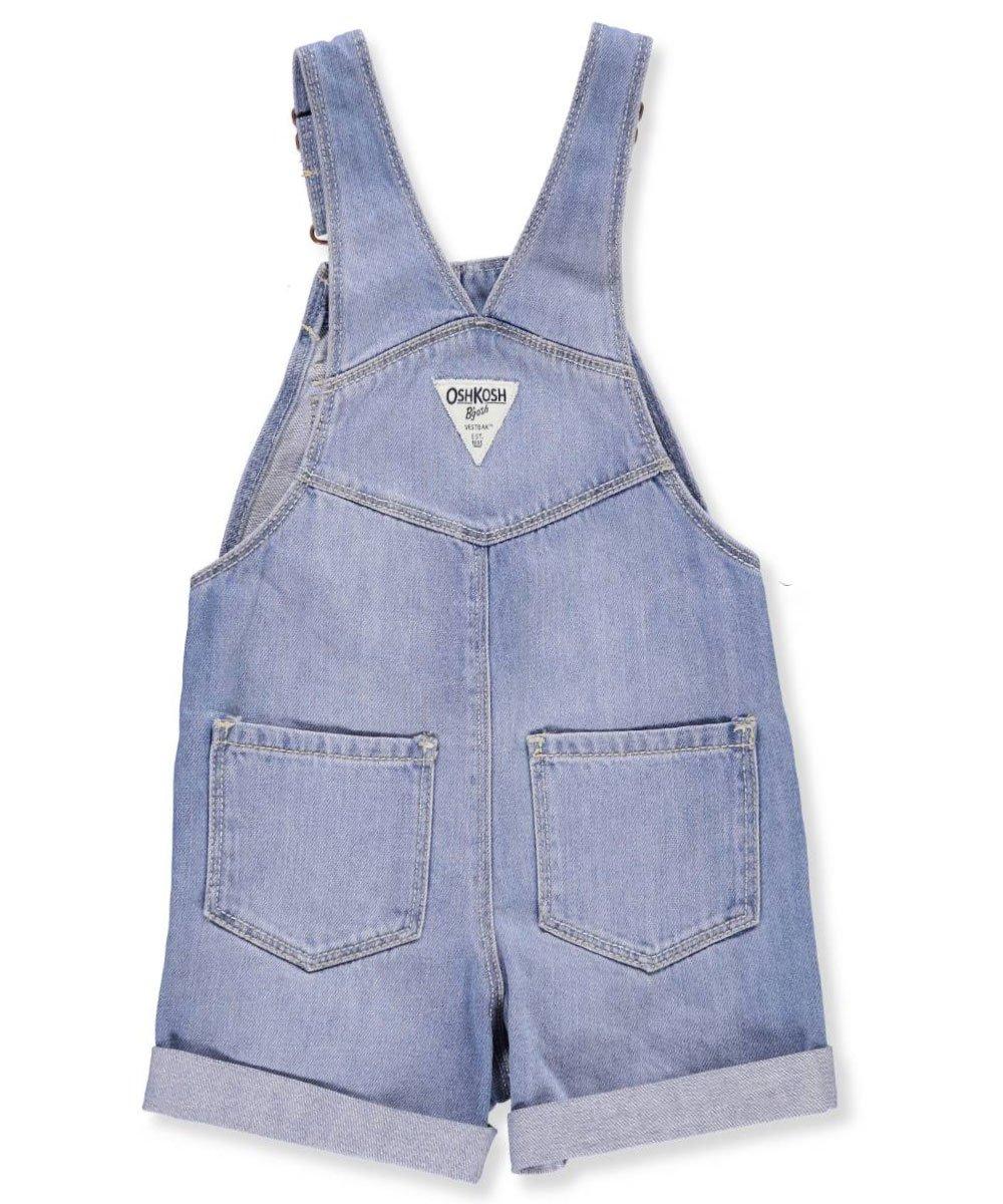 OshKosh B'Gosh Girls' 2T-5T Fashion Pocket Shortalls 4T by OshKosh B'Gosh (Image #5)