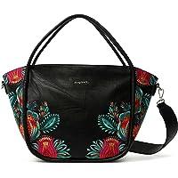 Desigual Women's PU SHOULDER BAG, Black, U U
