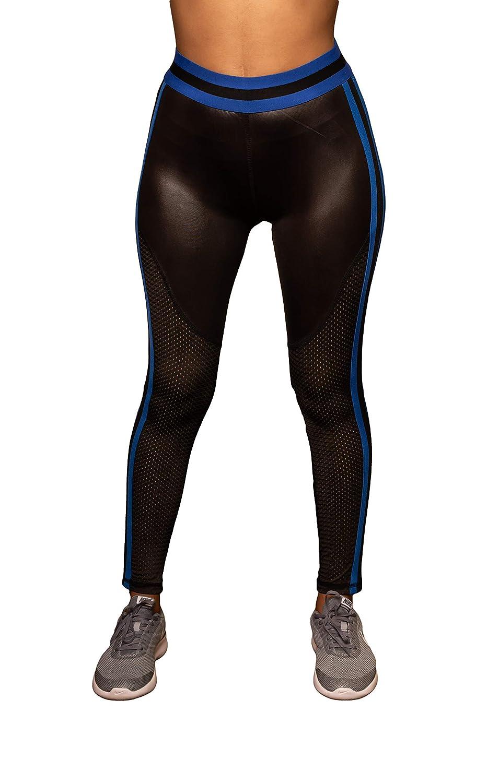 Vigoss Womens Varsity Style Activewear Performance Leggings