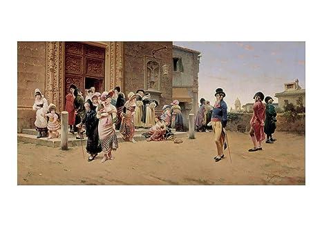 Spiffing Prints Germán Álvarez Algeciras - Leaving Church ...