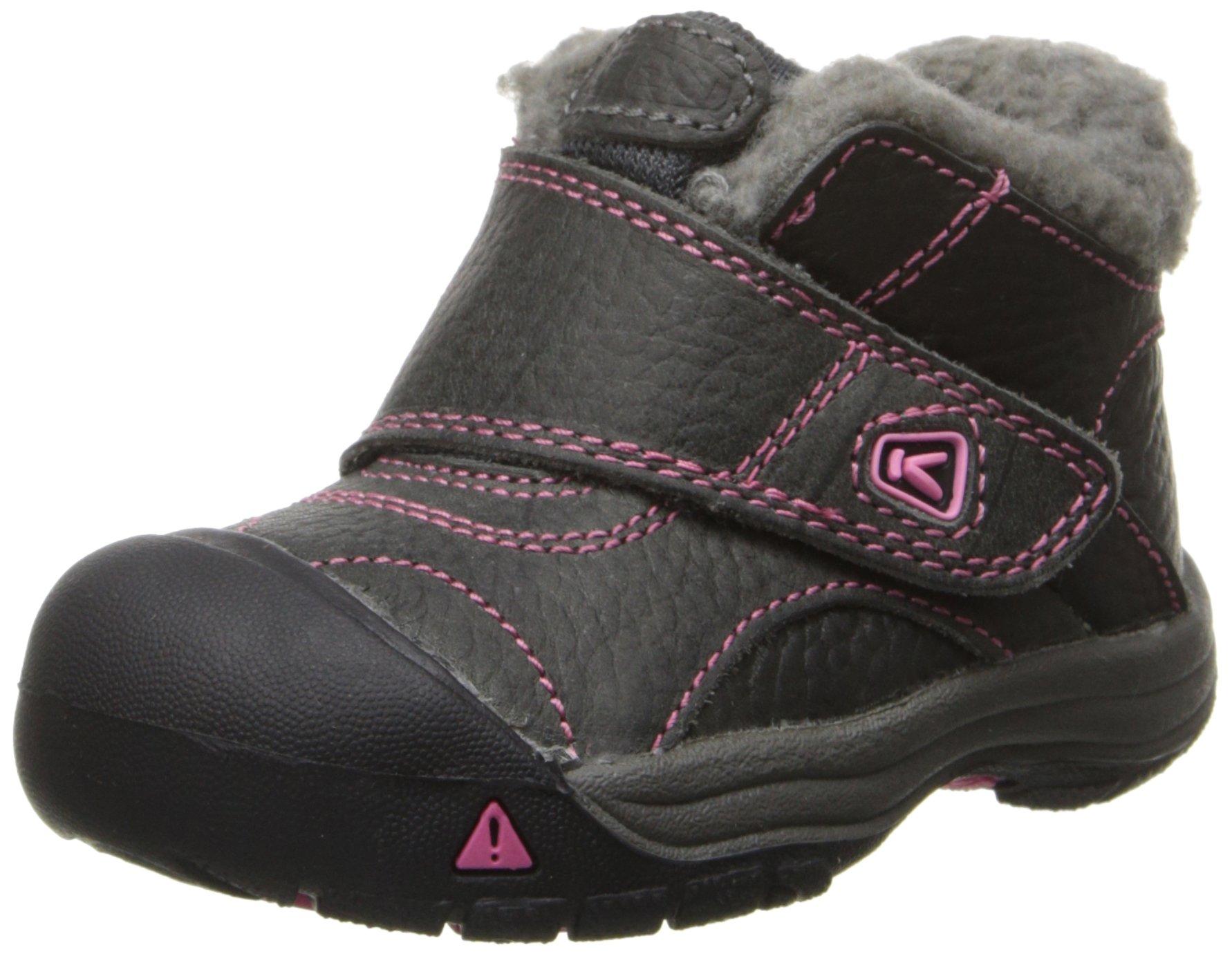 KEEN Kootenay Winter Boot (Toddler), Magnet/Shocking Pink, 5 M US Toddler