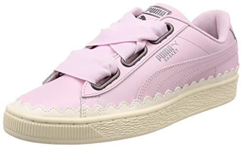 Puma Basket Heart Scallop Womens Trainers: Amazon.co.uk