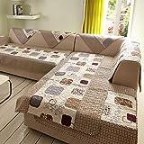 1PC 50X50CM Fashion Winter Cotton Sofe FEITONG Velvet Sofa Cushion Slip Towel Cover Home Armrest