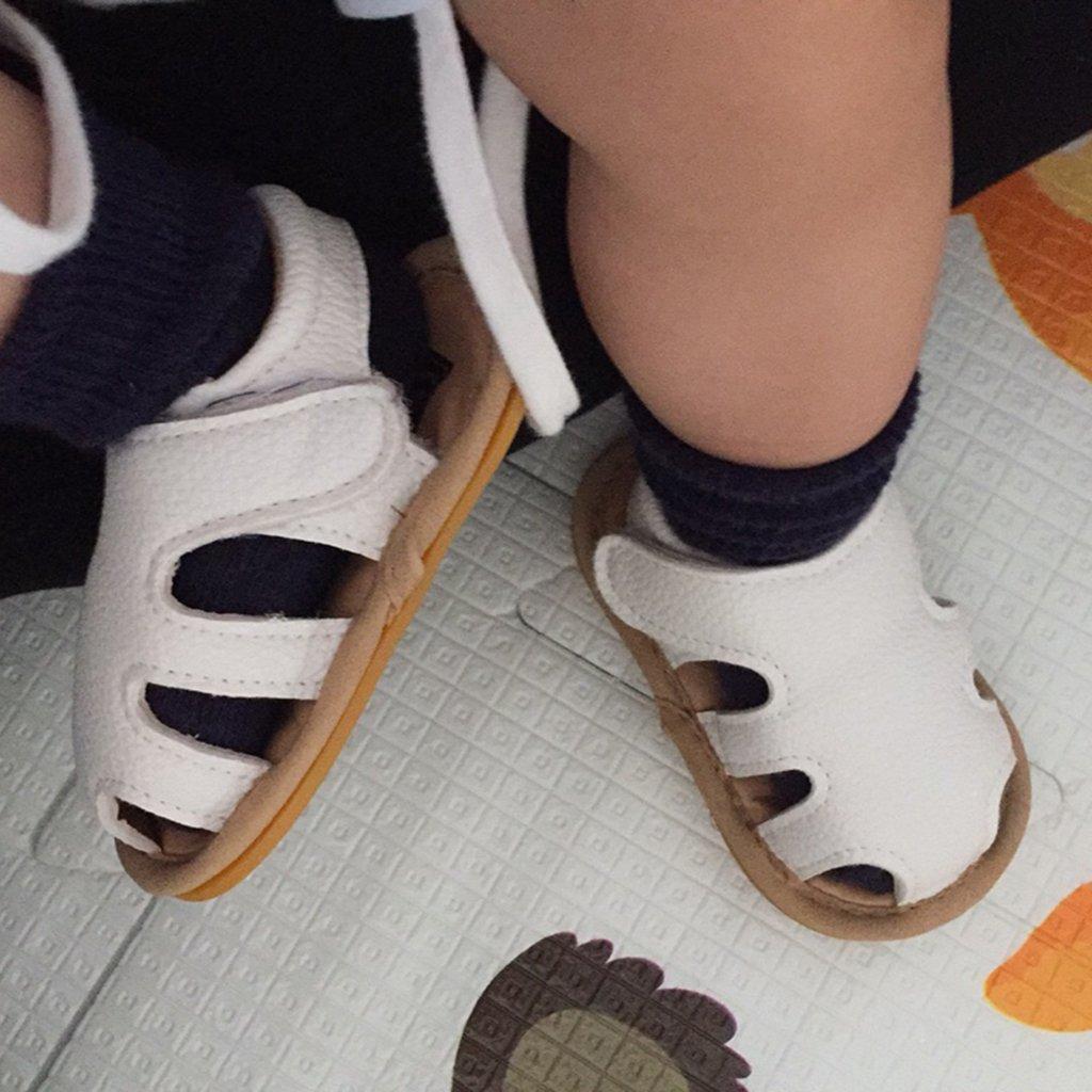 MagiDeal Bebé Toddler Summer PU Sandalias Huecas Niños Cuna ...