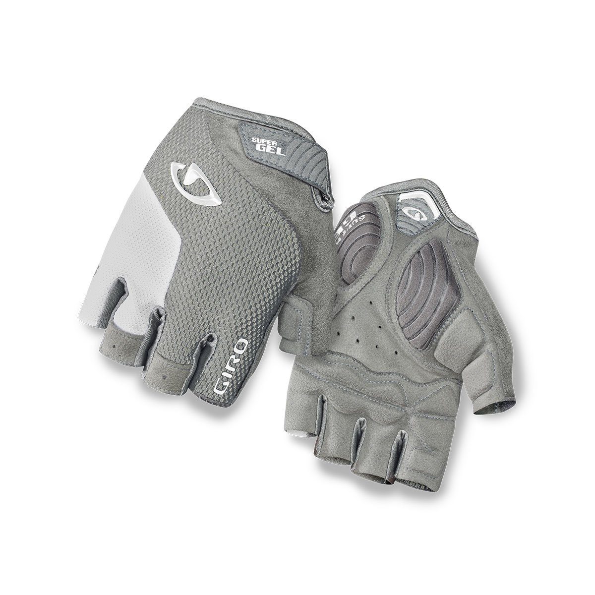 Giro Strada Massa 15 Größe M Damen Handschuhe Dunkelgrau