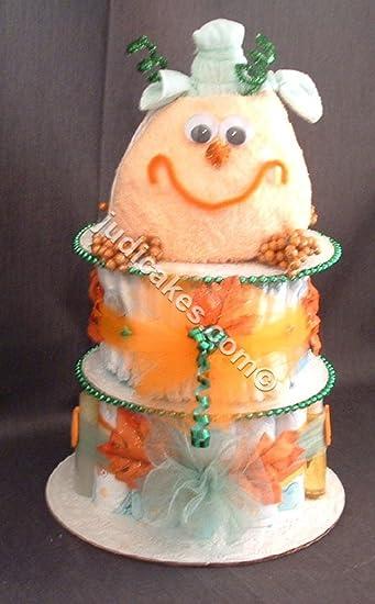 Amazon Fall Halloween Happy Pumpkin Baby Shower Gift Diaper