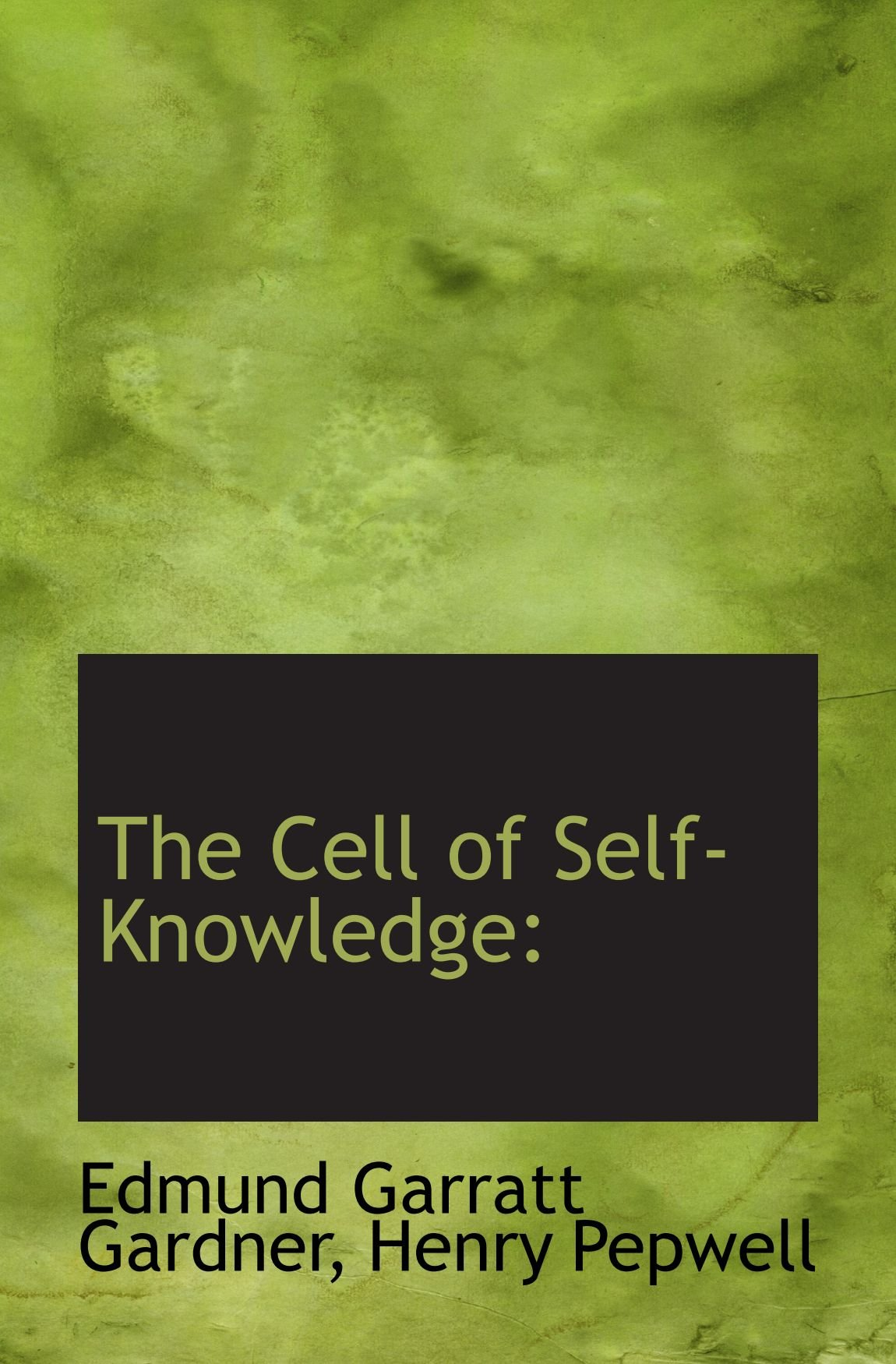 Read Online The Cell of Self-Knowledge ebook