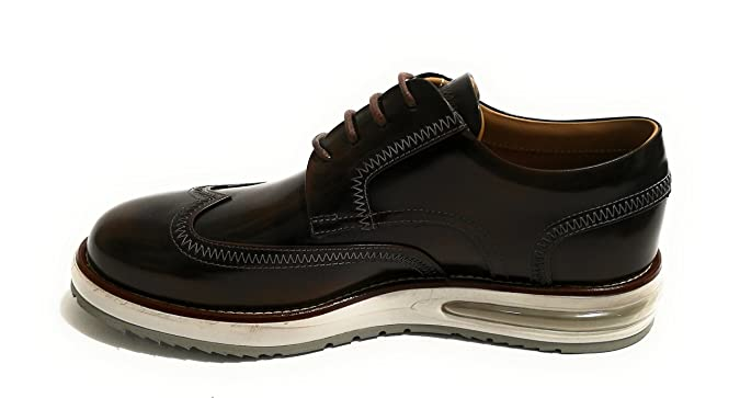 Barleycorn Scarpe Uomo Air Brogue Blind Brown Leather col. Marrone  US18BA02  Amazon.it  Scarpe e borse 5560ad519f0