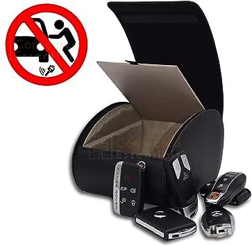 Bloqueador de Señal Antirrobo | Protector de Caja de Almacenamiento de Llave de Coche | Bloqueador RFID para Coches y Tarjetas Sin Llave: Amazon.es: Coche y moto