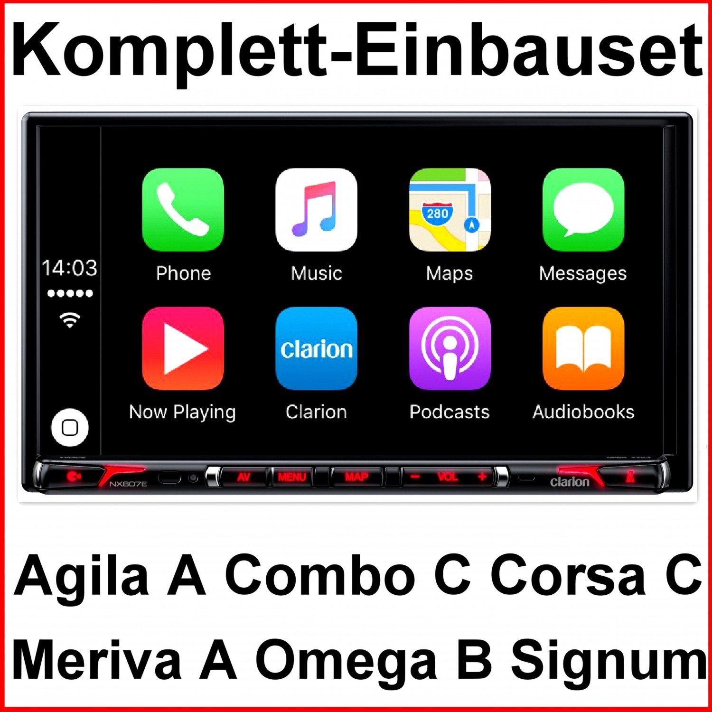 Juego completo Opel Corsa C, Omega B, Vectra C Clarion nx807 edab ...